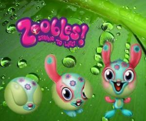 Puzzle de Conejo Zooble de Petagonia