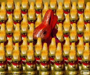Puzzle de Conejos de chocolate