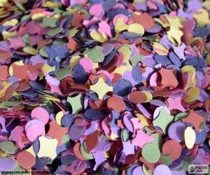 Puzzle de Confeti de colores