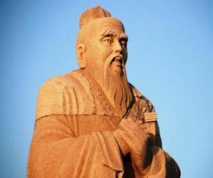 Puzzle de Confucio, filósofo chino, creador del Confucionismo