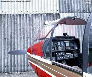 Puzzle de Controles de una avioneta