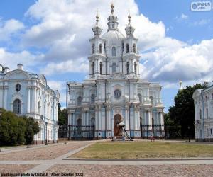 Puzzle de Convent Smolni, Rusia