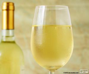 Puzzle de Copa de vino blanco