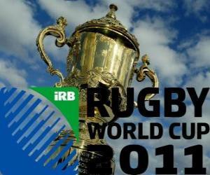 Puzzle de Copa Mundial de Rugby de 2011. Se celebra en Nueva Zelanda del 9 de setiembre al 23 de octubre