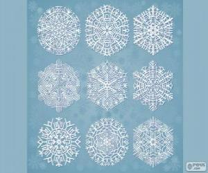 Puzzle de Copos de nieve