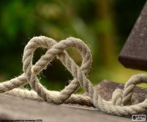 Puzzle de Corazón de cuerda
