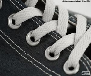 Puzzle de Cordones blancos