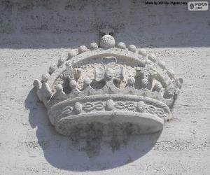 Puzzle de Corona esculpida