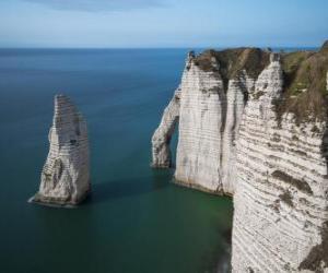Puzzle de Costa de Normandia