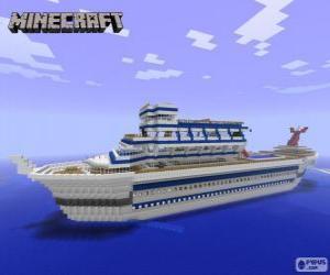 Puzzle de Crucero de Minecraft