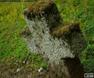 Puzzle de Cruz de piedra