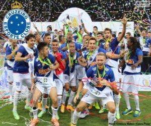 Puzzle de Cruzeiro campeón 2014