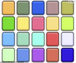 Puzzle de Cuadrados de colores