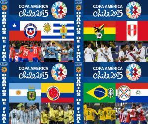 Puzzle de Cuartos de final Chile 2015