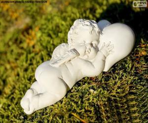 Puzzle de Cupido durmiendo