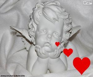 Puzzle de Cupido enamorado