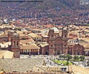 Puzzle de Cuzco, Perú