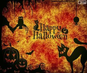 Puzzle de Día de Halloween