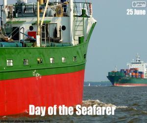 Puzzle de Día de la gente de mar