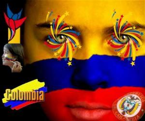 Puzzle de Día de la Independencia de Colombia conmemora el 20 de julio de 1810, Grito de Independencia