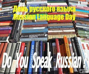 Puzzle de Día de la Lengua Rusa