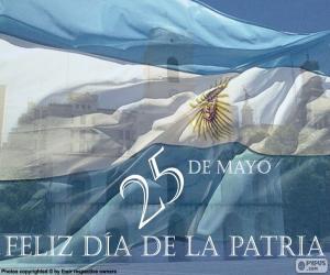 Puzzle de Día de la Patria Argentina