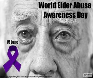 Puzzle de Día Mundial contra el abuso y maltrato en la vejez