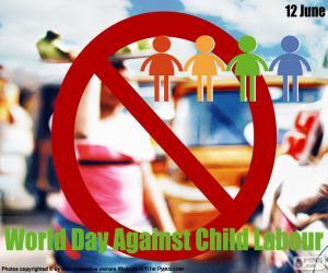 Puzzle de Día Mundial contra el Trabajo Infantil