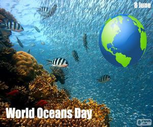 Puzzle de Día Mundial de los Océanos