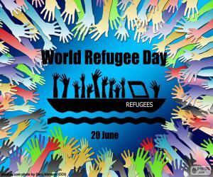 Puzzle de Día Mundial de los Refugiados