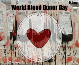 Puzzle de Día Mundial del Donante de Sangre