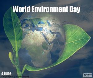 Puzzle de Día Mundial del Medio Ambiente