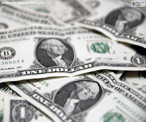 Puzzle de Dólar estadounidense
