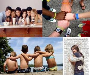 Puzzle de Día Internacional de la Amistad, 30 de julio