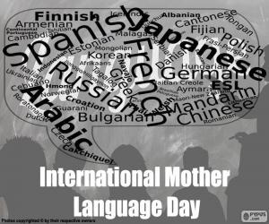 Puzzle de Día Internacional de la Lengua Materna
