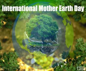 Puzzle de Día Internacional de la Madre Tierra