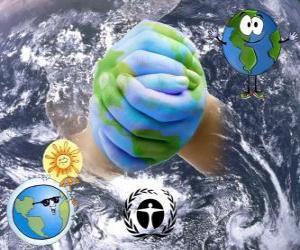 Puzzle de Día Internacional de la Preservación de la Capa de Ozono, 16 de septiembre