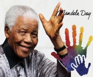Puzzle de Día Internacional de Nelson Mandela, 18 de julio