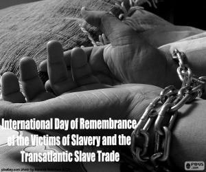 Puzzle de Día Internacional de Recuerdo de las Víctimas de la Esclavitud y la Trata Transatlántica de Esclavos