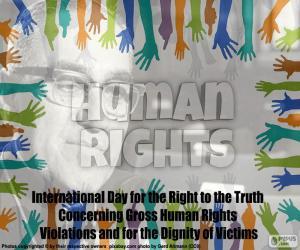 Puzzle de Día Internacional del Derecho a la Verdad