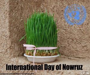 Puzzle de Día Internacional del Novruz