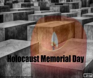 Puzzle de Día Internacional Víctimas del Holocausto