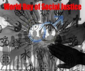 Puzzle de Día Mundial de la Justicia Social