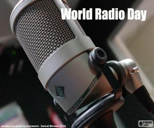 Puzzle de Día Mundial de la Radio