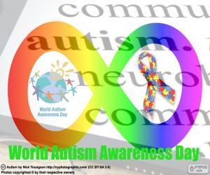 Puzzle de Día Mundial del Autismo