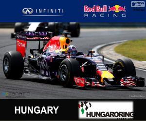 Puzzle de D. Ricciardo G.P Hungría 15