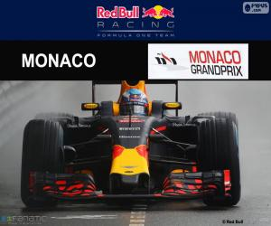 Puzzle de D Ricciardo, GP Mónaco 2016