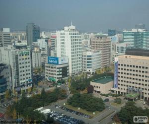 Puzzle de Daejeon, Corea del Sur