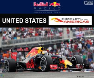 Puzzle de Daniel Ricciardo, GP USA 16
