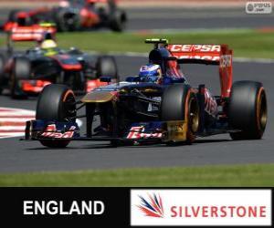 Puzzle de Daniel Ricciardo - Toro Rosso - Silverstone, 2013